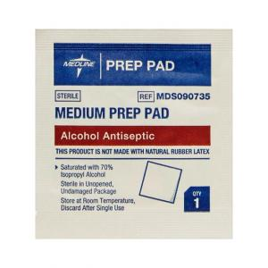 Alcohol Prep Pads - 20 units