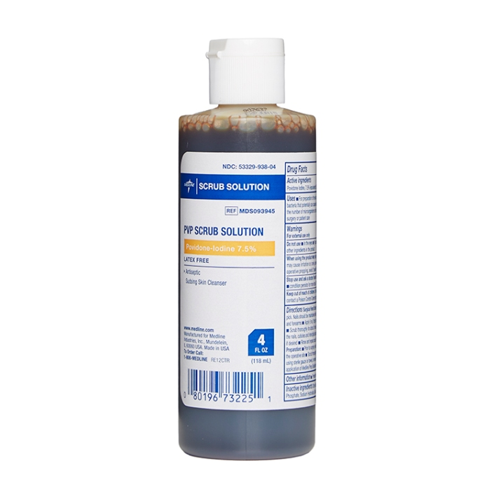 Povidone Iodine Scrub Solution
